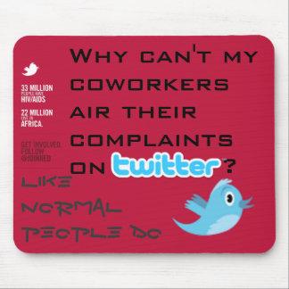 Twitter Complaints Alteration 18 Mousepad