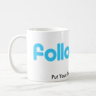 Twitter Cup Classic White Coffee Mug