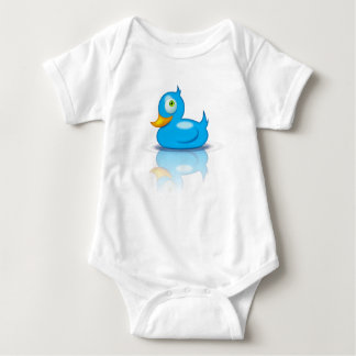 Twitter Duck Baby Bodysuit