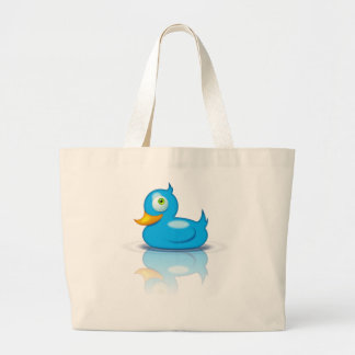 Twitter Duck Tote Bag