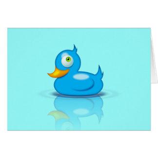 Twitter Duck Card