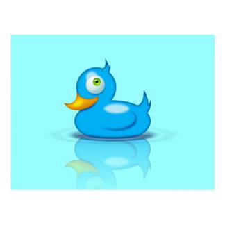 Twitter Duck Postcard