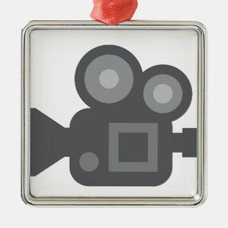 Twitter Emoji - Camera film making Metal Ornament