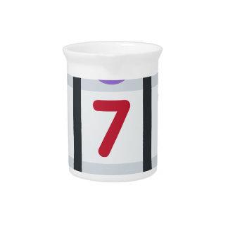Twitter Emoji - Lucky 7 Jarra De Beber