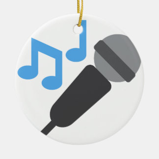 Twitter emoji - MIc Ceramic Ornament