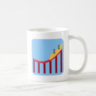 Twitter Emoji - Roller coaster Taza De Café