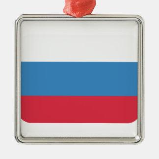 Twitter emoji - Russia Flag Metal Ornament