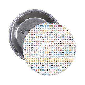 Twitter Emoji (Twemoji) 2 Inch Round Button
