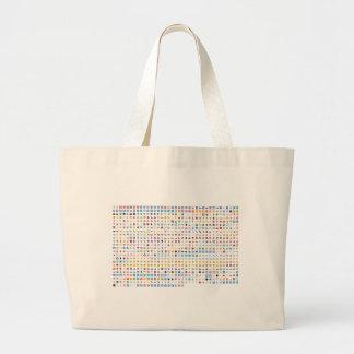 Twitter Emoji (Twemoji) Large Tote Bag