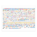 Twitter Emoji (Twemoji) Tarjeta Postal