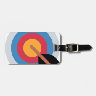 Twitter Emoticon - target archery Bag Tag