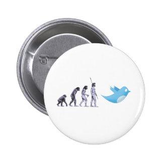Twitter Evolution Pinback Button