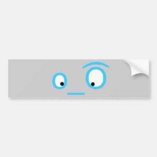twitter eyeballs car bumper sticker