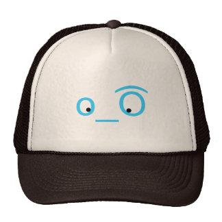 twitter eyeballs trucker hat