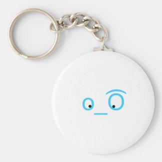 twitter eyeballs keychain