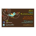 Twitter/facebook Business cards