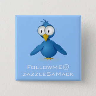 Twitter Follow Me @ Your User Name Button