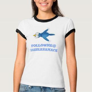 Twitter Follow Me @ Your User Name T-Shirt