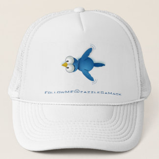 Twitter Follow Me @ Your User Name Trucker Hat