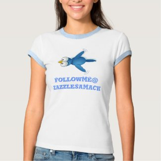 Twitter Follow Me @ Your User Name shirt