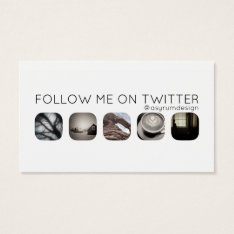 Twitter Followers Business Card at Zazzle