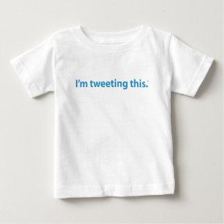 Twitter Gear Infant T-shirt