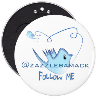 Twitter Gifts With Your User Name Follow Me Birdie Button