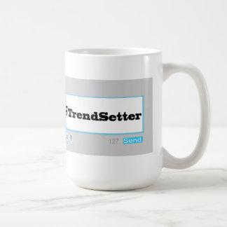 Twitter Hashtag # TrendSetter Mugs