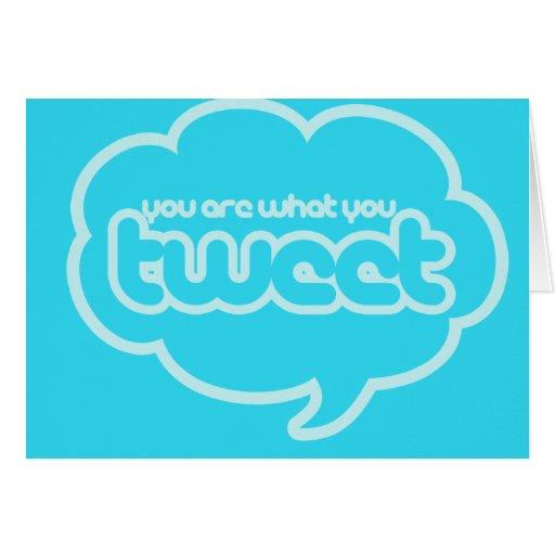 Twitter humor card