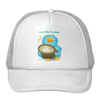 Twitter ID I Love My Twoffee Gifts Apparel Trucker Hat