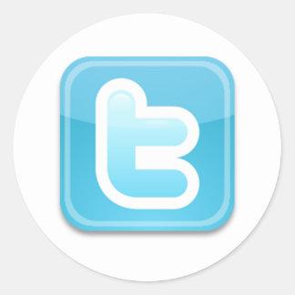 Twitter-ish! Round Sticker