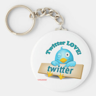 Twitter LOVE Apparel,Gifts & Collectibles Keychains