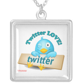 Twitter LOVE Necklace