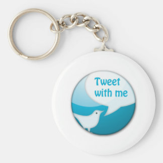 Twitter Mania - Tweet Me! Key Chain