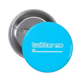 twitter me @ 2 inch round button