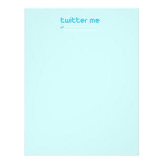 "twitter me @ 8.5"" x 11"" flyer"