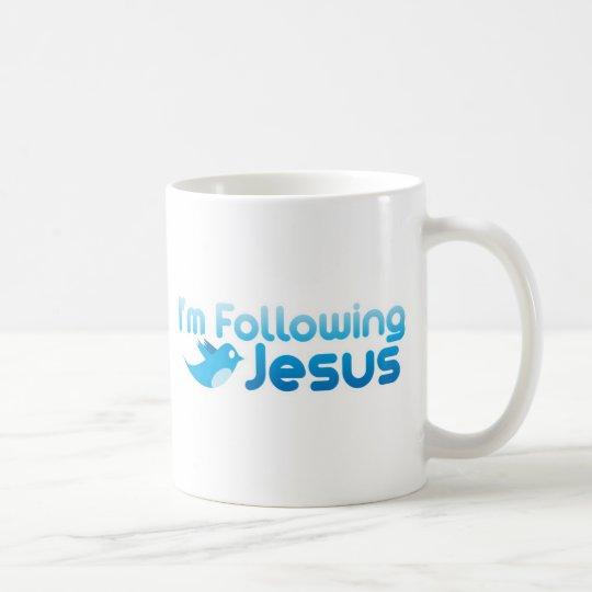 Twitter me I'm Following Jesus Christ Coffee Mug