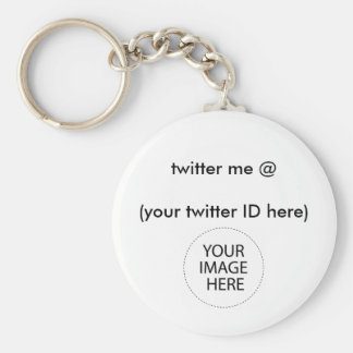 twitter me @ (your twitter ID here) The MUSEUM Key Chain