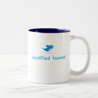 """Twitter """"modified tweet"""" Mug"""