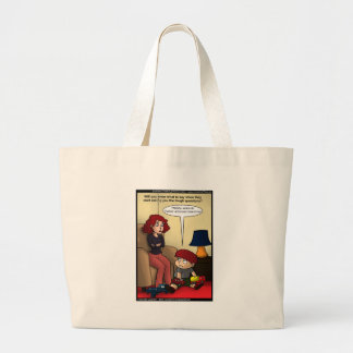 Twitter Moms Funny Cards Mugs & Gifts Large Tote Bag
