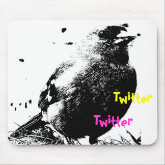 Twitter! Mouse Pad