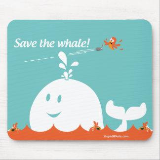 Twitter Mousepad - Fail Whale - Save the Whale