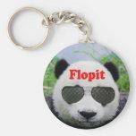 Twitter Panda Keychain