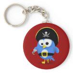 Twitter Pirate Keychain