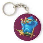 Twitter Relax Keychain