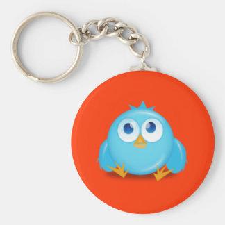 Twitter Siesta Keychain