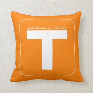 Twitter Social Media Throw Pillow
