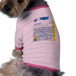 twitter t shirt for dog! doggie tee shirt