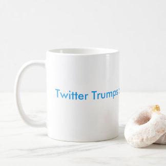 Twitter Trumps a Press Conference Classic Mug