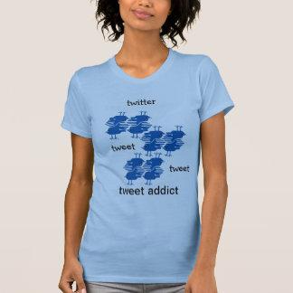 twitter tweet tweet addict T-Shirt